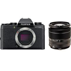 FUJIFILM X-T100 18-55mm F2.8-4 R LM OIS レンズセット ミラーレス一眼[レンティオおすすめセット]
