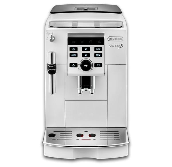 デロンギ マグニフィカS コンパクト全自動コーヒーマシン ECAM23120WN エントリーモデル/ミルク泡立てフロッサー付