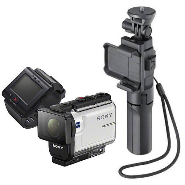 ソニー HDR-AS300R 定番のマウントセット (カメラグリップ)