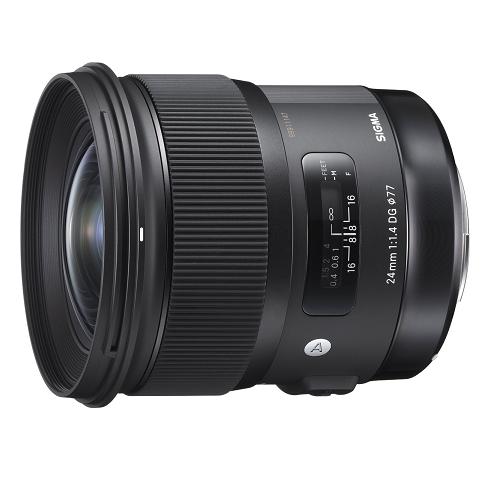 SIGMA Art 24mm F1.4 DG HSM 単焦点レンズ (CANON EFマウント) 401542