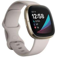 [新品]Fitbit Sense Alexa搭載/GPS搭載 スマートウォッチ Lunar White/Soft Gold ルナホワイト/ソフトゴールド