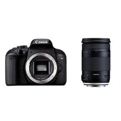 CANON EOS Kiss X9iとタムロンの便利ズームレンズ(18-400mm)のセット 一眼レフ