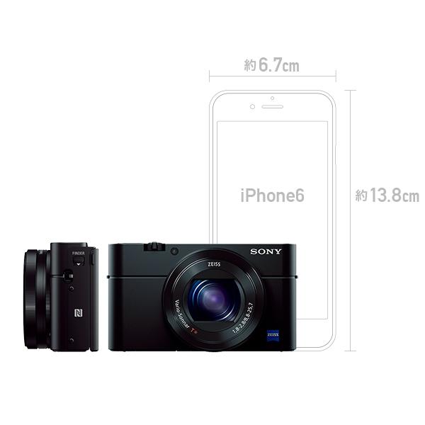 SONY Cyber-shot DSC-RX100M3 コンパクトカメラ