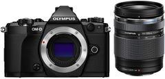 OLYMPUS E-M5 Mark II 14-150mm II レンズキット ブラック ミラーレス一眼