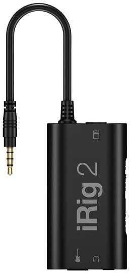 IK Multimedia iRig2 モバイル・オーディオ・インターフェース