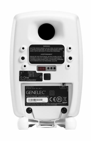 [新品] GENELEC G One アクティブ・スピーカー 2個セット ホワイト