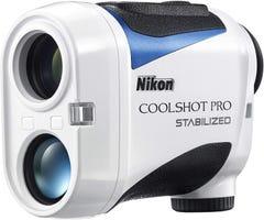 Nikon クールショット ゴルフ用レーザー距離計 COOLSHOT PRO STABILIZED ホワイト