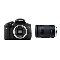 CANON EOS Kiss X8iとタムロンの便利ズームレンズ(18-400mm)のセット 一眼レフ