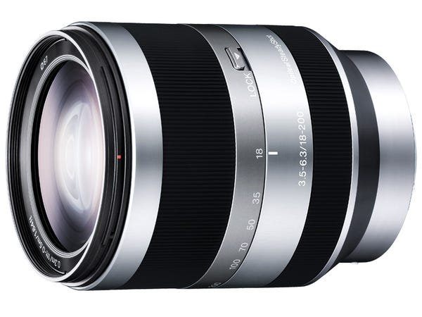 SONY E18-200mm F3.5-6.3 OSS SEL18200 高倍率ズームレンズ