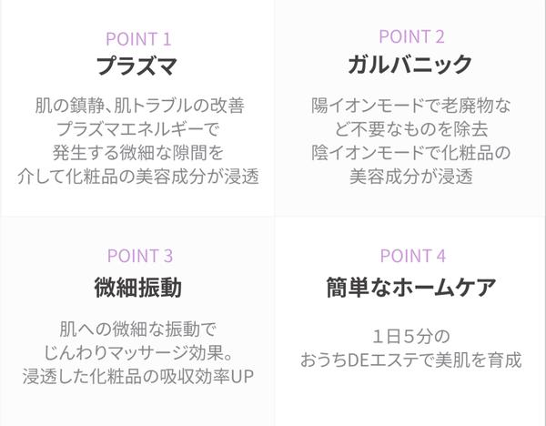 プラニック(PLANIC)&クリーネピーリング 美容機器 2点セット