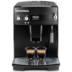 デロンギ エスプレッソマシン マグニフィカ 全自動コーヒーメーカー ESAM03110b エントリーモデル/ミルク泡立てフロッサー付