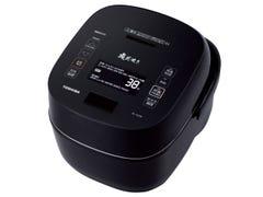 東芝 真空圧力IH 炊飯器 炎匠炊き RC-10VXR-K [グランブラック] 1.0L(約5.5合)