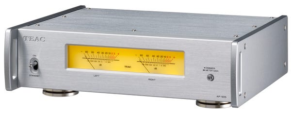 TEAC AP-505 Referenceシリーズ ステレオパワーアンプ シルバー