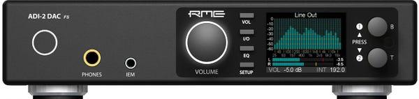 RME×GENELEC ADI-2 DAC STUDIO G One Black「ADI-2 DAC FS」+「G One 黒」+「小柳出電気社製カスタムケーブル」セット