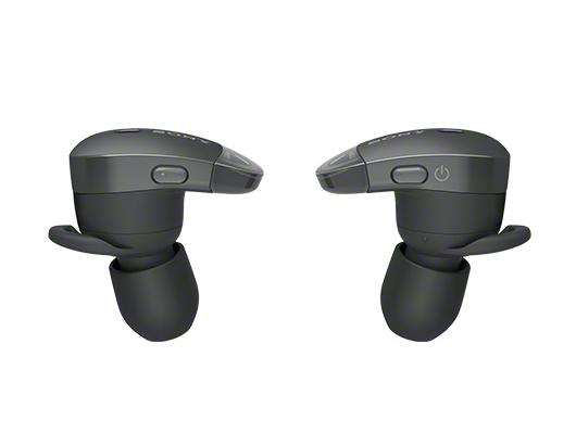 SONY 完全ワイヤレスノイズキャンセリングイヤホン Bluetooth対応 左右分離型 マイク付き ブラック WF-1000X