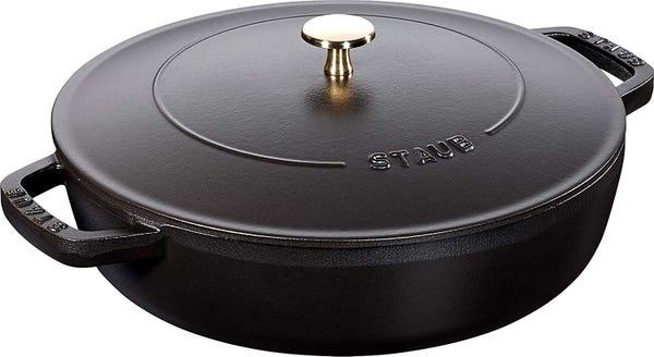 STAUB ストウブ ブレイザー・ソテーパン ブラック 26cm