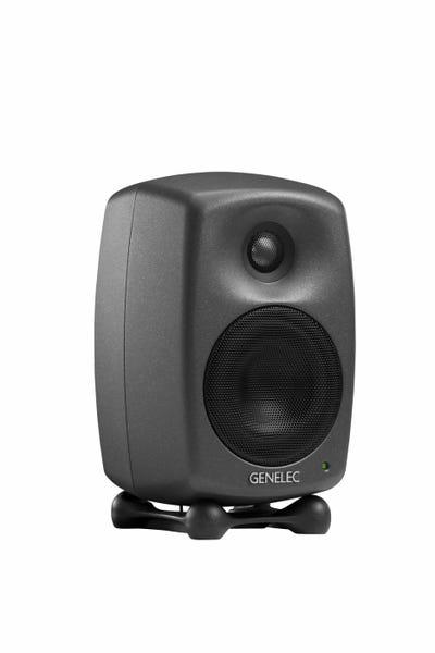 GENELEC 8020DPM スタジオ・モニター 2個セット ダーク・グレー