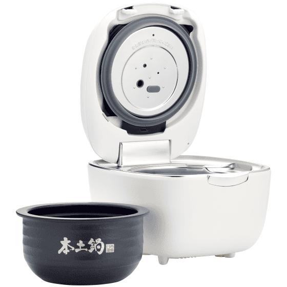 [新品] タイガー 土鍋圧力IHジャー炊飯器5.5合〈炊きたて〉ご泡火炊き JPL-A100 コーラルホワイト