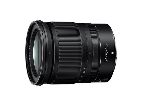 Nikon NIKKOR Z 24-70mm f/4 S 標準ズームレンズ