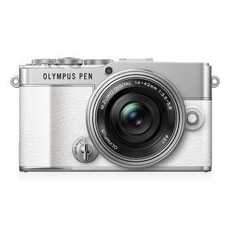OLYMPUS PEN E-P7 14-42mm EZ レンズキット ホワイト ミラーレス一眼