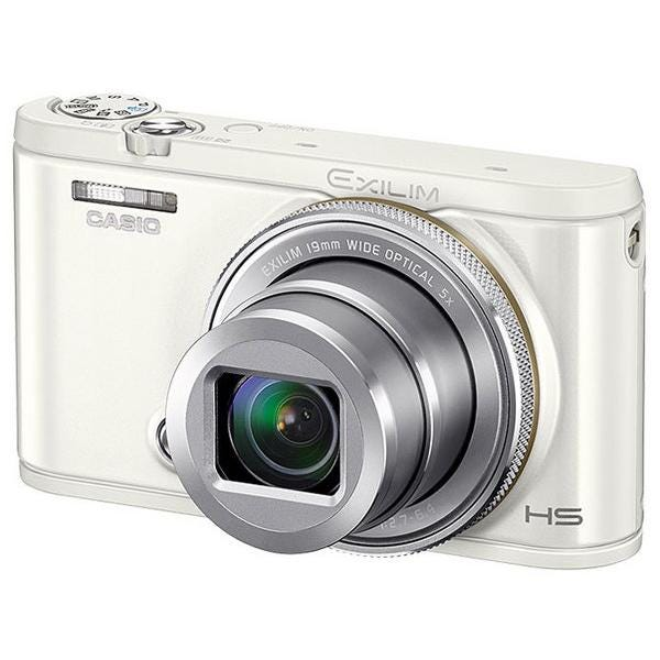 CASIO コンパクトデジタルカメラ HIGH SPEED EXILIM EX-ZR4100 ホワイト