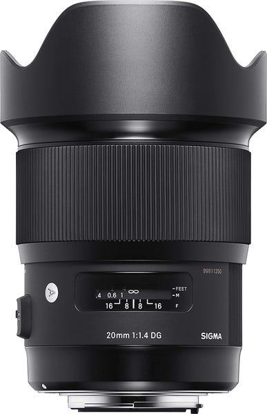SIGMA 20mm F1.4 DG HSM Art 単焦点レンズ 412555 (NIKON Fマウント用)