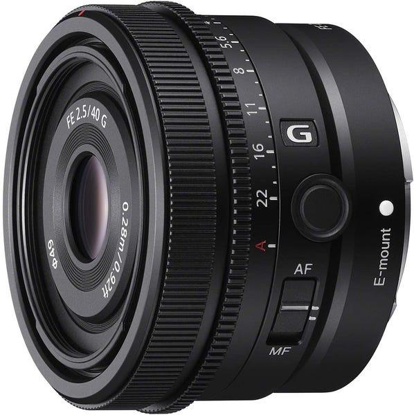 SONY FE 40mm F2.5 G 単焦点レンズ