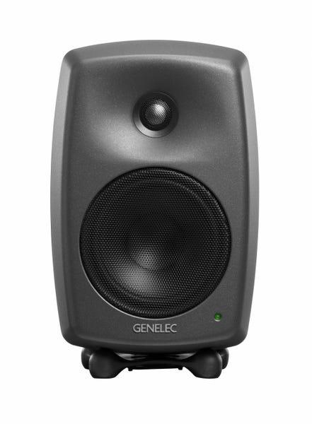 [新品] GENELEC 8030CP スタジオ・モニター 2個セット ダーク・グレー