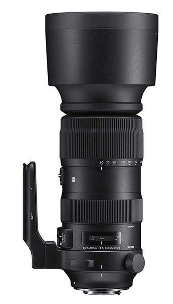 SIGMA 60-600mm F4.5-6.3 DG OS HSM Sports 望遠ズームレンズ (NIKON Fマウント) 730550