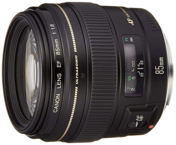 Canon EF85mm F1.8 USM 単焦点レンズ