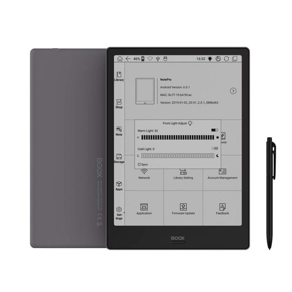BOOX Note Pro Android搭載電子書籍リーダー 10.3インチEinkパネル