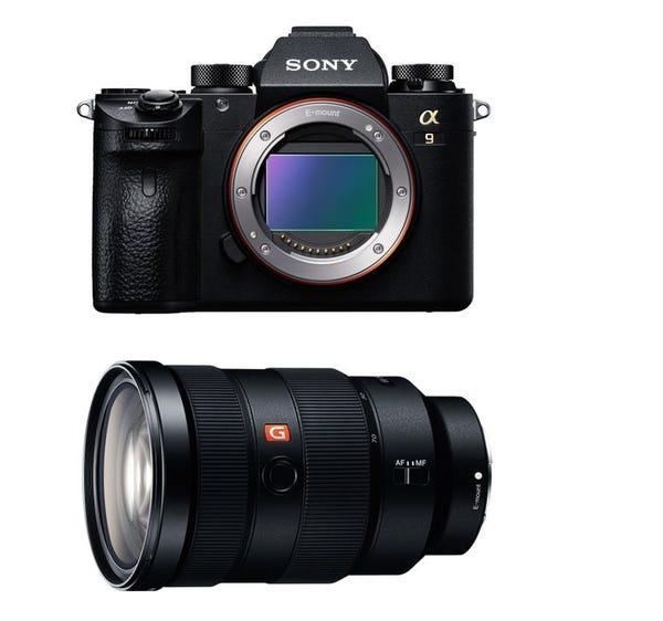 SONY α9 ILCE-9  と FE 24-70mm F2.8 GM SEL2470GM レンズキット ミラーレス一眼