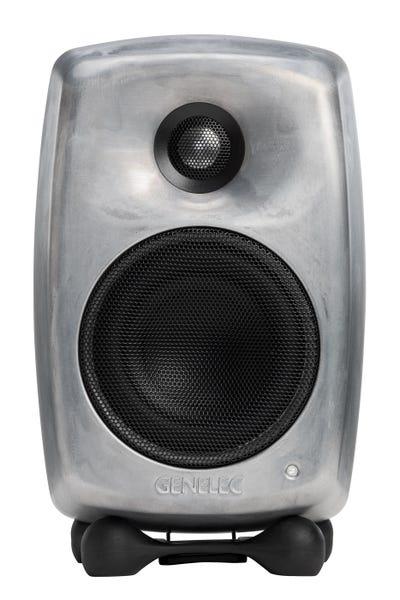 [新品] GENELEC G Two アクティブ・スピーカー 2個セット RAWフィニッシュ