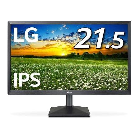 LG PCモニター ディスプレイ  21.5インチ/フルHD/IPS 非光沢 22MK430H-B