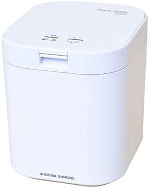 島産業 家庭用 生ごみ減量乾燥機 パリパリキュー 1~5人用 PPC-11-WH