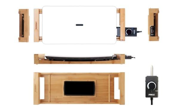 [新品] PRINCESS 白いホットプレート テーブルグリルピュア [もらえるレンタル®]