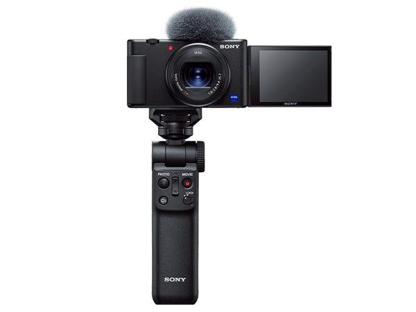SONY デジタルカメラ VLOGCAM ZV-1G シューティンググリップキット