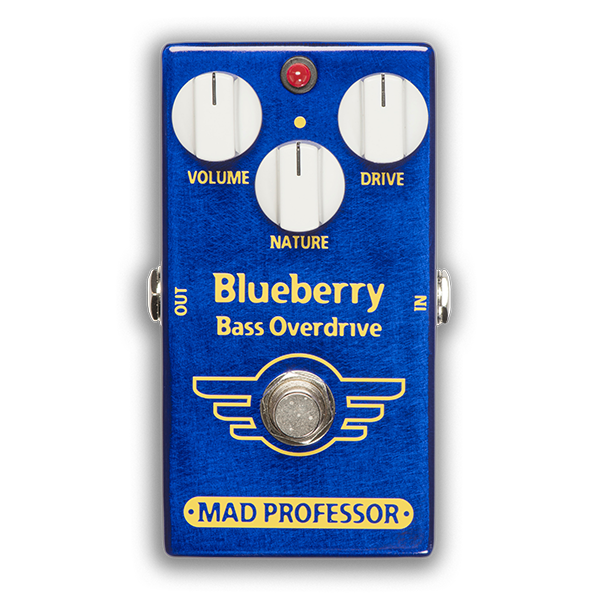 MAD PROFESSOR Blueberry Bass Overdrive Factory