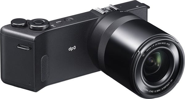 SIGMA dp0 Quattro 単焦点レンズ固定式 デジタルカメラ