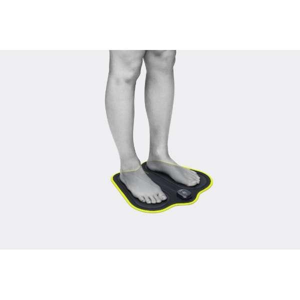 [新品]マクセル 脚用EMS運動器 MOTECARE Foot MXES-FR230LBK ブラック