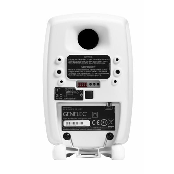 GENELEC G One アクティブ・スピーカー 2個セット ホワイト