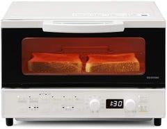 アイリスオーヤマ マイコン式オーブントースター 1200W MOT-401-W