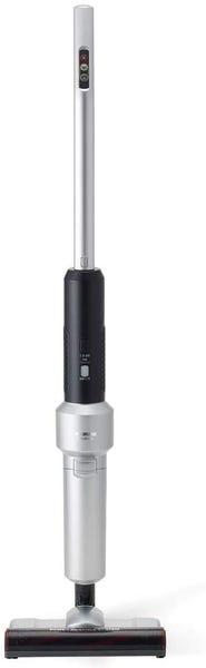 アイリスオーヤマ スティッククリーナー 静電モップ付 シルバー IC-SLDCP12