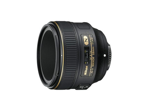 NIKON AF-S NIKKOR 58mm f/1.4G 単焦点レンズ
