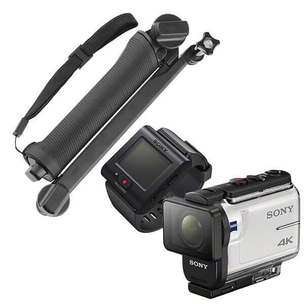 ソニー FDR-X3000R 定番のマウントセット (カメラアーム)