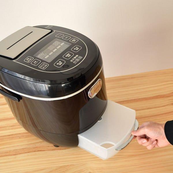 サンコー 糖質カット炊飯器 いつものご飯を低糖質に  LCARBRCK