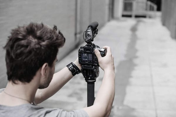 SHURE カメラマウント ショットガンマイク VP83F