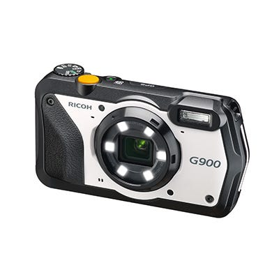 RICOH 防水防塵デジタルカメラ G900 広角28mm 防水20m 耐衝撃2.1m 防塵 耐薬品性 現場モデル