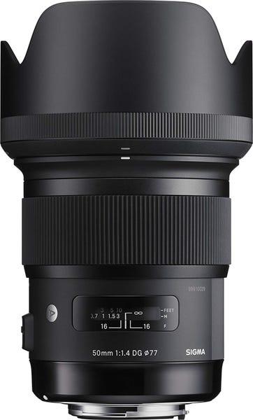 SIGMA Art 50mm F1.4 DG HSM 単焦点標準レンズ (CANON EFマウント) 311544