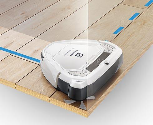 [新品] Electrolux(エレクトロラックス) ロボット掃除機 motionsense(モーションセンス)ERV5210IW アイスホワイト